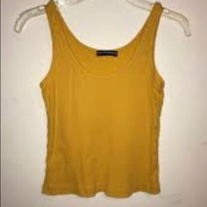 BRANDY MELVILLE GOLDEN YELLO TANK TOP